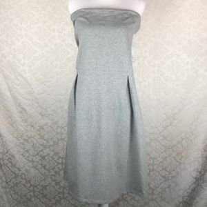 NWT Old Navy Gray Strapless Dress SZ 2XL Tall